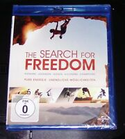 The Search For Freedom blu ray Veloce Spedizione Nuovo e Confezione Originale