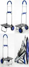 dbest products Bigger Mighty Max Personal Dolly, Blue Handtruck Cart