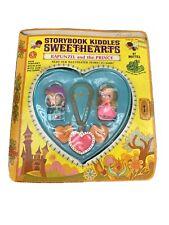 Vintage Liddle Kiddles Storybook Sweethearts Little Rapunzel and the Prince Set