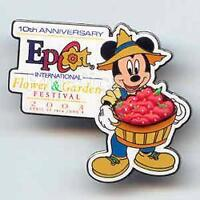 Disney Flower & Garden Festival Mickey Mouse Pin