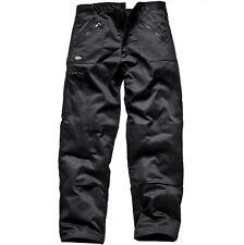 Dickies Workwear Wd814 Redhawk MS Action Work Trousers Black 44s