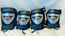 Harley Davidson Motor Cycle Knee Pad Elbow Pad Child youth Logo Protective Gear