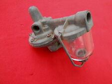 Mechanical Fuel Pump w/Glass Bowl 1938-48 Ford Flathead V8 scta 32 Hot Rod TROG