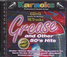 Karaoke Bay: Grease and Other 50's Hits ~ Karaoke Bay Cd