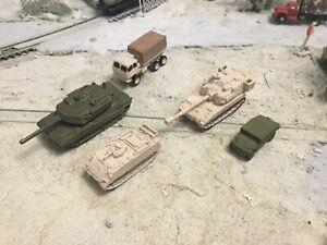 N Scale Modern military army Vehicle sampler unpainted 3D prints