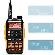 Baofeng GT-3TP MarkIII 1/4/8W 2m/70cm Band VHF UHF Ham Two-way Radio Transceiver