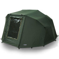 2 Man 'Fortress' Overwrap' NGT Green Carp Fishing Bivvy Tent Wrap With Window