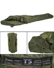 Mil-Tec Schlafsack Tactical 5 Oliv Outdoor Survival Campingschlafsack 230x80cm