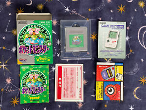 Pokémon Green Version Japanese EXCELLENT CONDITION! Rare Original Game 1996