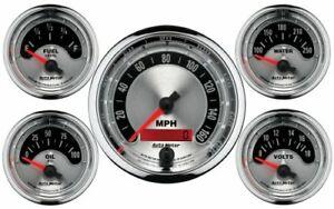 Auto Meter American Muscle 5-Piece Gauge Kit - AU1202