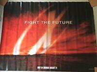 The X-Files Movie: Fight The Future - British Quad Cinema Poster. Teaser (1998)