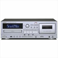 New TEAC AD-850 Cassette Deck CD player silver EMS F/S from JAPAN
