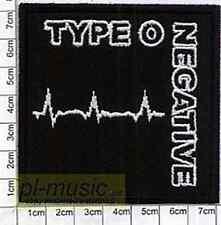 = TYPE o Negative - embroidery patch ,Aufnäher,naszywka  #