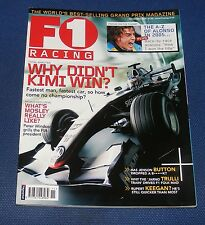 F1 RACING NOVEMBER 2005 - THE A-Z OF ALONSO IN 2005