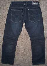 Men's Jeans size 34x31 SIGMA Premium Denim Collection Black, Ramie/Cotton GREAT