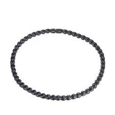 Men's Black Titanium Steel 53PCS POWER Magnets Therapy Necklace for Arthritis