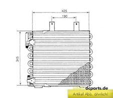 Klimakühler Kühler Klimaanlage Klimakondensator BMW 3 (E30) 325 e 2.7