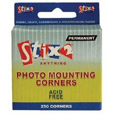 Photo montage coins x 250 perm sans acide Stix2 transparent ** livraison gratuite