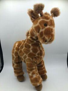 Official Gund 1993 Giraffe Wild Safari Plush Kids Soft Stuffed Toy Animal Doll