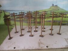 16x 15mm Telegraphy poles for wargames Bolt Action 2mm MDF Laser Cut Scenery
