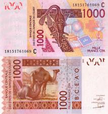 WEST AFRICAN STATES, BURKINA FASO, 1000 Francs, 2018, Code C, P315c, UNC