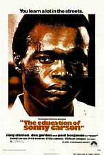 THE EDUCATION OF SONNY CARSON Movie POSTER 27x40 Rony Clanton Don Gordon Paul