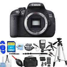 Canon EOS 700D / T5i Body Only Digital SLR Camera MEGA BUNDLE BRAND NEW!!