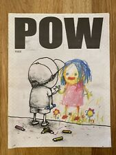Banksy Marks & Stencils POW Newspaper feat. Dran I Have Chalks Cover / RARE
