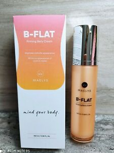Maelys B-FLAT firming belly cream cellulite/stretch marks🌹2023 EXPIRY