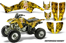 Honda TRX 400 EX AMR Racing Graphic Kit Wrap Quad Decal ATV 1999-2007 MANDY YLLW