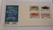 1978 NIUE STAMP ISSUE FDC, SET OF 4 FISH ISSUE