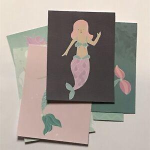 6 Mermaid Theme Scrapbook, Embellishments, Card Making, Card Toppers, Ephemera