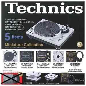 Kenelephant Capsule Gashapon Technics Miniature Collection Stereo Full Set