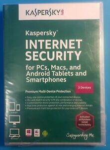 Kaspersky Internet Security Premium Protection 3 Devices - PC Mac Android