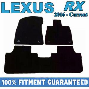 PREMIUM Prestige Carpet Floor Mats for Lexus RX 2016 - 2020 RX350 RX200t RX450h
