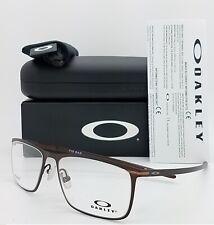 NEW Oakley Tie Bar RX frame Satin Corten OX5138-0355 55mm Titanium AUTHENTIC