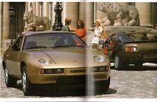 Porsche 928 & 928S 1979-80 UK Market Sales Brochure