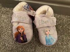 BNWT Frozen II Girls Toddler Slippers Size 7 Eur 24