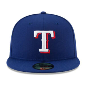 Texas Rangers TXR MLB Authentic Collection New Era 59FIFTY Fitted Cap