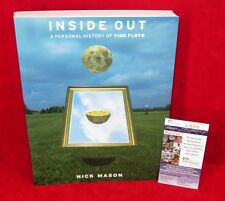 NICK MASON Signed Autograph Book Inside Out Personal History Of Pink Floyd JSA