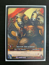 World of Warcraft WoW TCG Promo - EA Extended Art Garrosh, Son of Grom