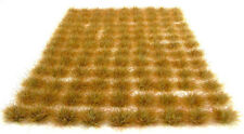 10mm Dead vegetation tufts x117 Self adhesive static grass railway scenery
