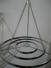 2x Round Stainless Steel Chandelier Frame Wedding Party Centerpiece Hanger