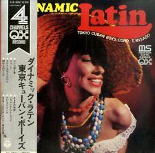 4CH LP WITH OBI SEXY COVER TOKYO CUBAN BOYS DYNAMIC LATIN 1971 QB-9002 VINYL