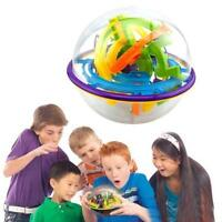 3D Labyrinth Magic Kids Child Rolling Ball Puzzle Brain Teaser Game Sphere Maze