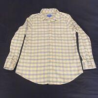 Pendleton Long Sleeve Flannel Tartan Plaid Button Down Shirt Mens Large Wool