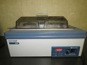 Fisher Scientific ISOTEMP 220 Heated Laboratory Water Bath 20L 120 Volts - Great