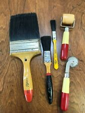 Vintage Paintbrushes Painting Artist Wall Paper Supplies
