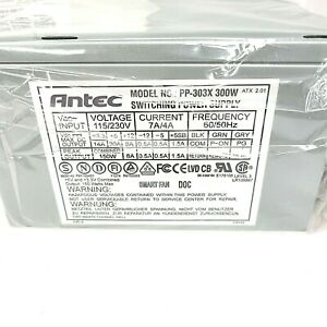 Antec PP-303X 300W Switching Power Supply PS PSU Version 2.03