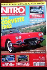 Nitro n°171 du 12/1997; Essai Corvette 1962/ Technique Rod/ Rambler Marlin